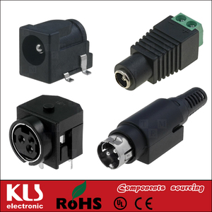 Good quality inline 2.5/0.7mm DC power plug/jack UL CE ROHS 085 KLS Brand