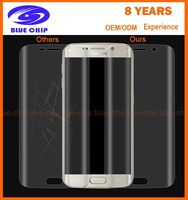 Wholesale screen protector for Samsung galaxy s7edge Curved Edge 3d full cover pet sceen protector