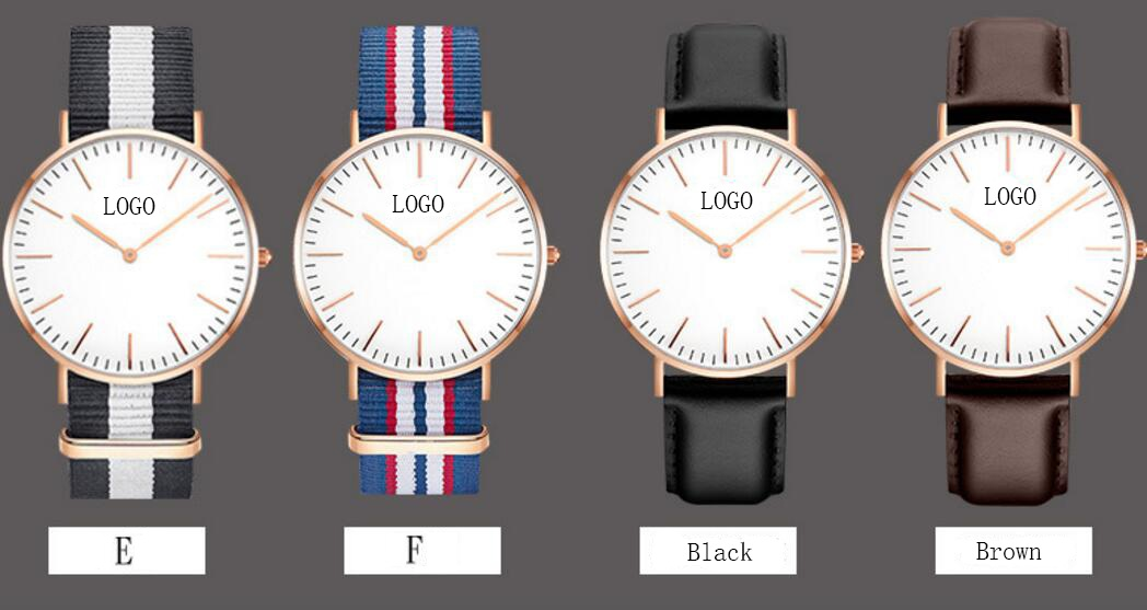 Shenzhen watch Factory OEM Your Own brand Watches Custom Logo minimalist DW watch