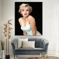 Marilyn Monroe Pop Art Canvas Printing for Home Decor