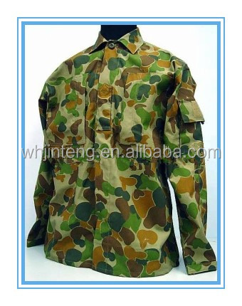 factory military infrared resistant camouflage clothing