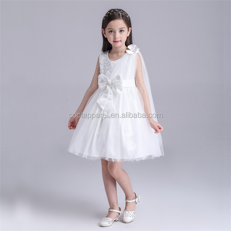 High-end baby girl battesimo vestito capretti della principessa tulle flower girl dress per la cerimonia nuziale