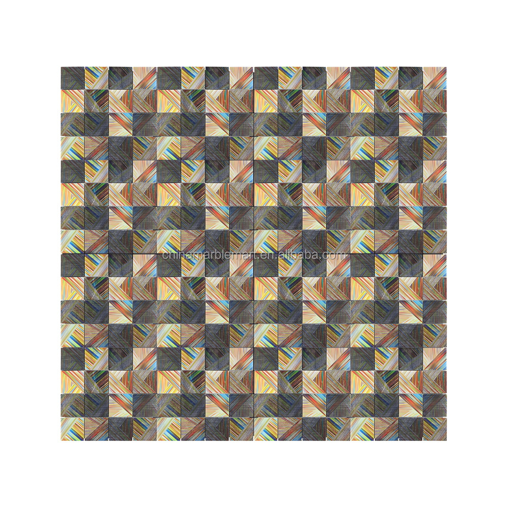 inkjet roman pattern marble mosaic bathroom backsplash tile