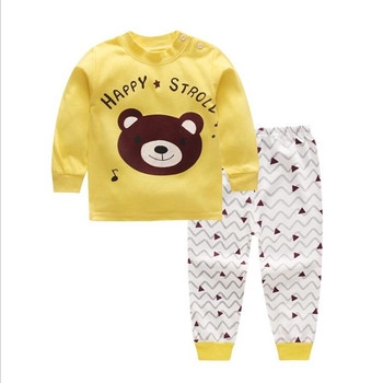 Cotton Baby Girls Clothes Winter Newborn Baby Clothes Set 2PCS CartoonBbaby Boy Clothes Unisex Kids Clothing Sets bebes