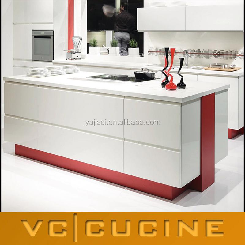 Knockdown Kitchen Cabinets: Foshan Knock Down Dasar Plastik Dapur Kabinet-Lemari Dapur