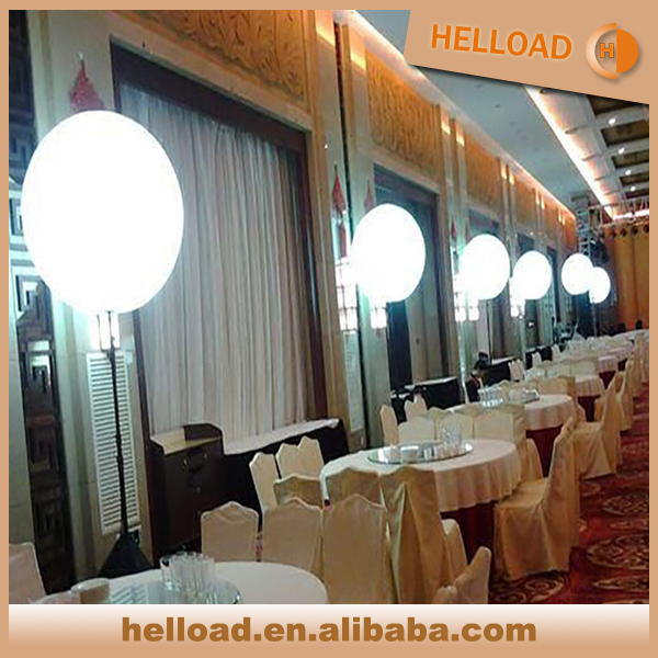 wholesale custom make 1m illumination tripod inflatable balloon for banquet