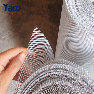 Factory price mini hole Galvanized sheet aluminum screen expanded metal mesh