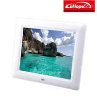 Wholesale bulk wall mounted gif lcd hd 8 inch digital photo frame
