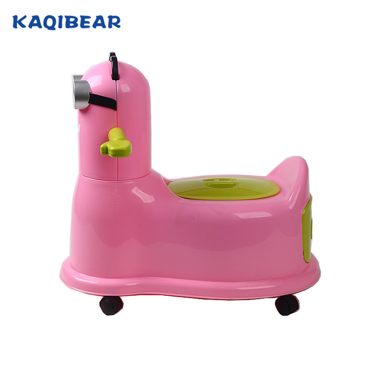 Best toddler potty training seat,lovely cartoon plastic baby potty