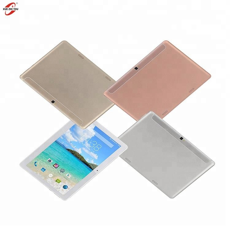 XUEZHIYOU hoge kwaliteit Smart 10 inch 4G android Tablet PC 2 + 32 GB met metalen cover