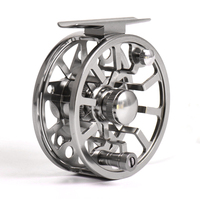 Wholesale high quality fishing gear aluminum Chinese Automatic fly fishing reel