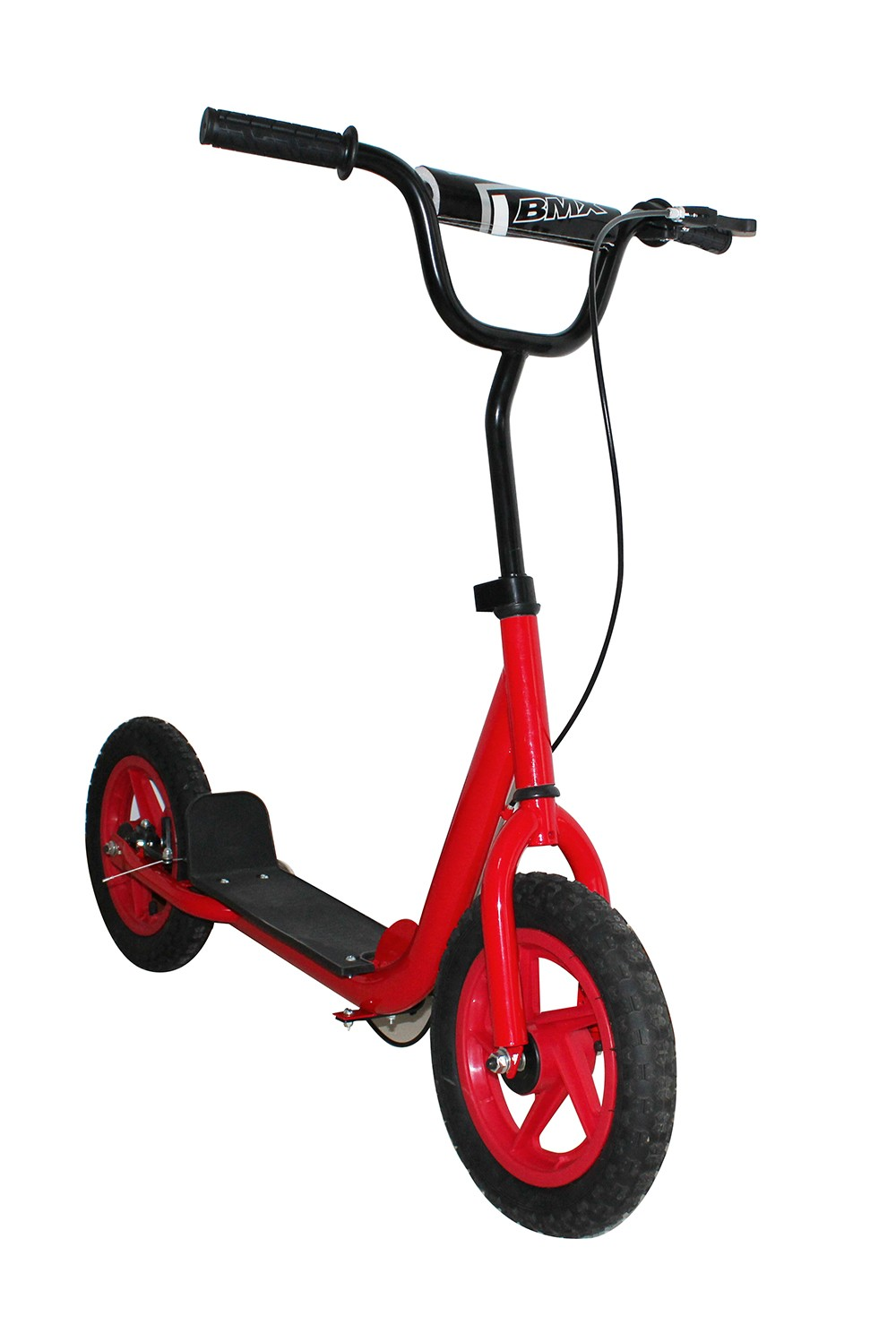 Two Wheel Kids Scooter With Big Plate Hand Brake Kids