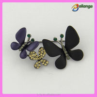 2016 Bailange fancy rhinestone brooch pin butterfly brooch wholesale
