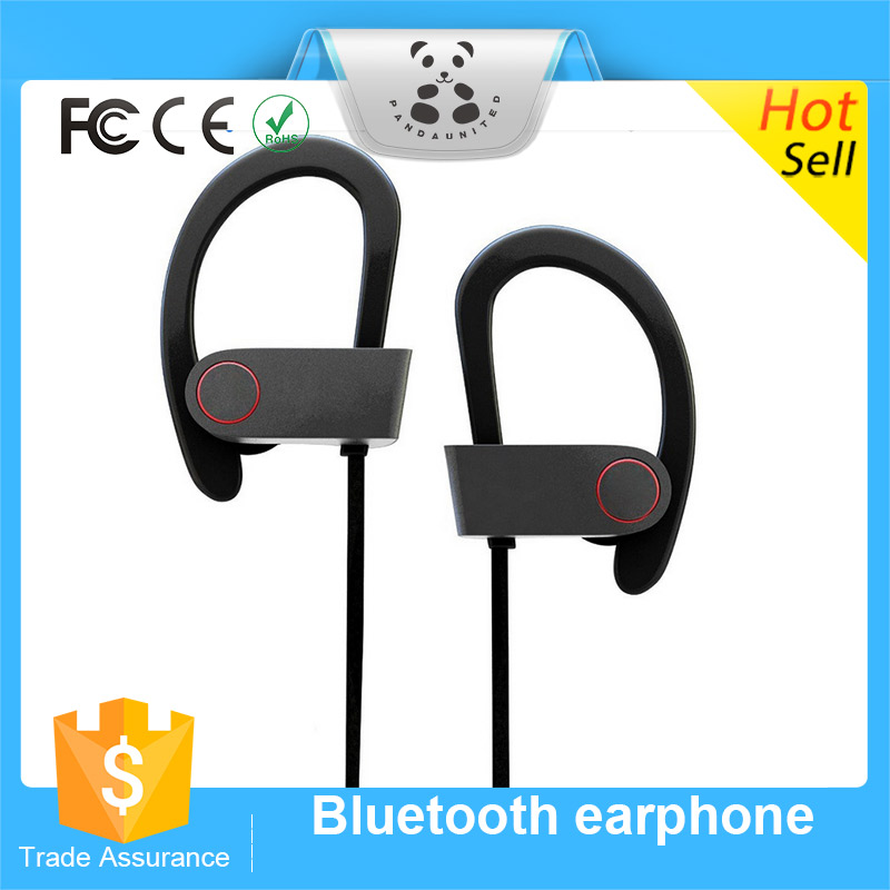 Shenzhen mobile phone car matching earphone bluetoothStereo Wireless Headphone Sports Headset Bluetooth Earphone Ear Hook