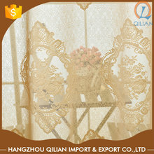 Luxury Custom Decorative sheer window curtains for home