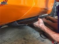 2011-2014 Mp4 12c 650s Revozport Style Carbon Fiber Side Skirts ...