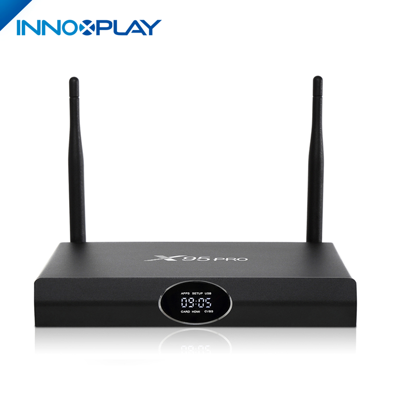 Best Amlogic S905X Quad Core X95 pro Android tv box 1G/2G RAM 8G/16G ROM 720p full hd video download Iptv set top box X95 pro