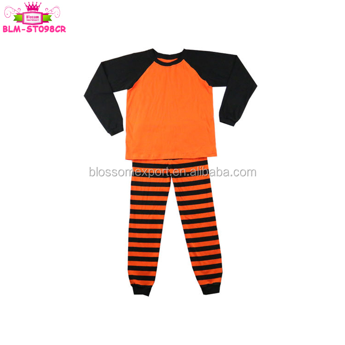 100% Cotton Pajamas Long sleeve Knitted Baby Clothes Christmas family holiday party wear wholesale unisex red green pajamas set