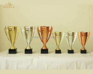 Best Selling Custom Gold Silver Brass Plating Metal Sport Trophy Cup