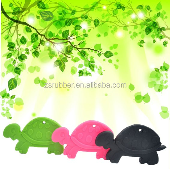 Silicone Teething Sea turtle Animals teether toy DIY for jewelry Necklace