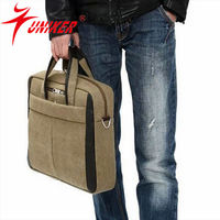 Man use business trip bag , travel bag for men loptop case