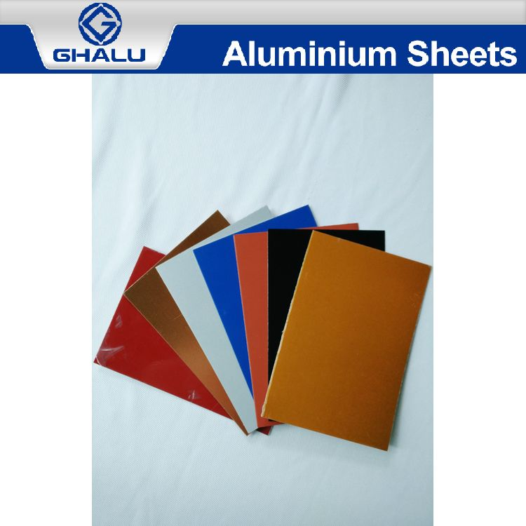 China supplier manufacture special pvdf coating aluminum corrugated sheet