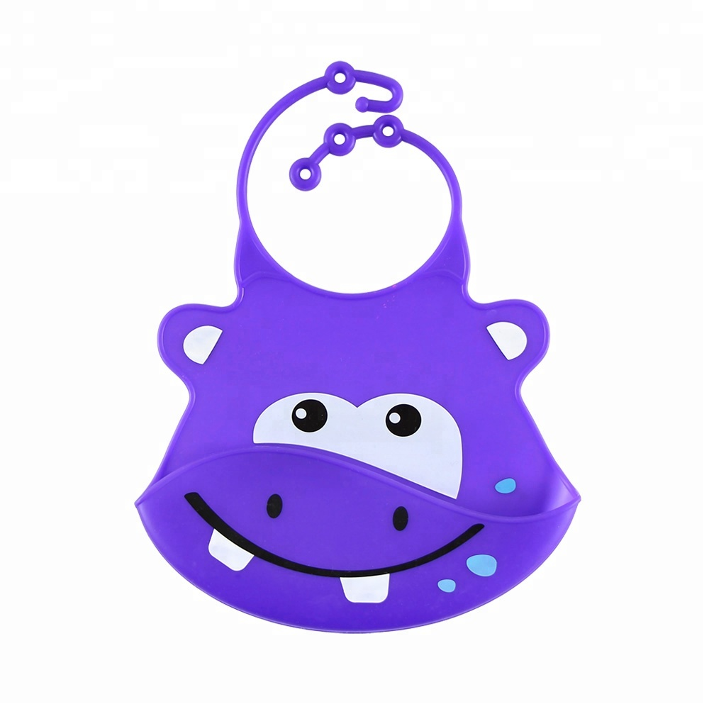Wholesale Christmas  Silicone Baby Bibs Rubber Bibs for Baby