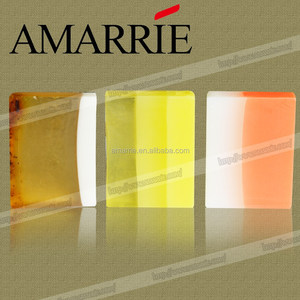 Guangzhou cosmetics organic glycerin best whitening handmade marbled soap