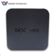 2017 Weberr 4K IP TV Box MX 2/16G Android TV Box mx-4k