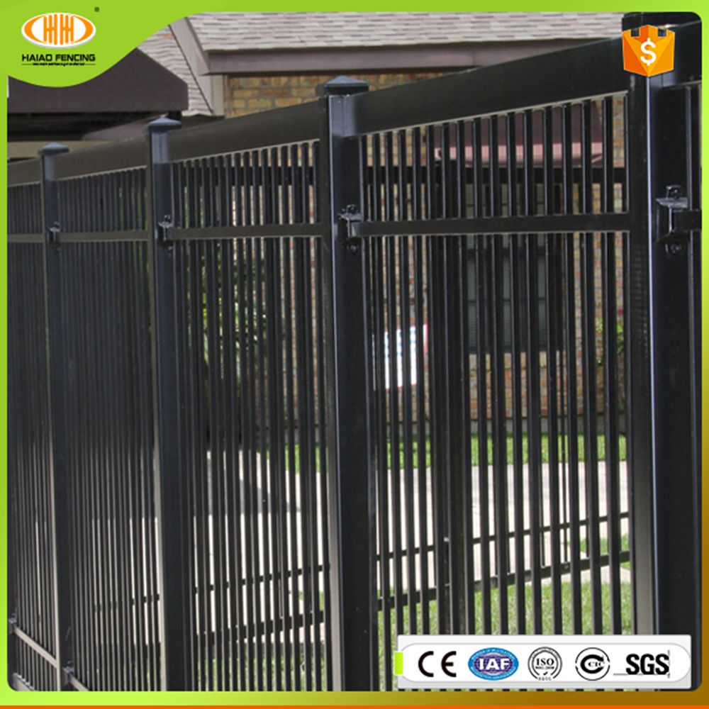 China cheap decorativesteel fence panels for sale