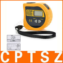 LCD Ultrasonic Distance Tape Measurer