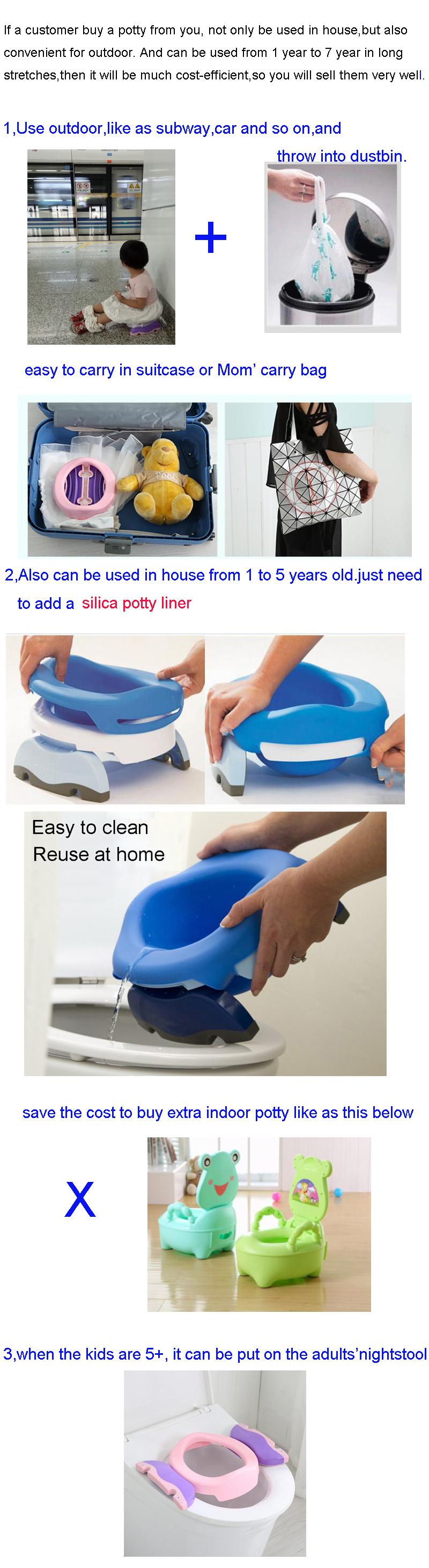 1b48876a9c4 Children Pot Kids Pee Urinal Baby Boy Urine Travel Toilet Portable Potty  Seat Baby Travel Potty Chair 2 In 1 Kids Potty Seat - Buy 2 In 1 Portable  ...