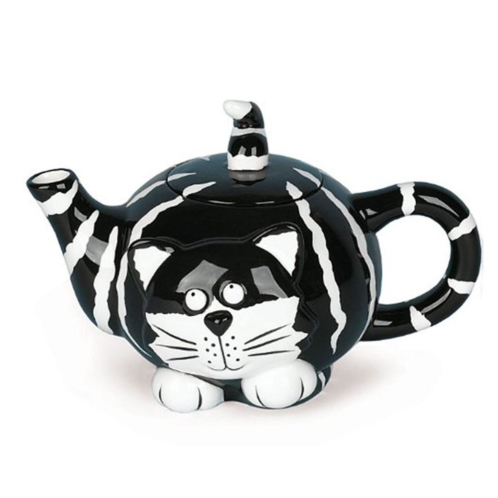 Ceramic Cat Thermos Teapot For Dubai Dining and Kitchen Decoration