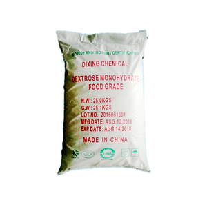 Dextrose Anhydrous China Supply White Powder Crystalline Food Grade Sweetener Dextrose Manufacturers