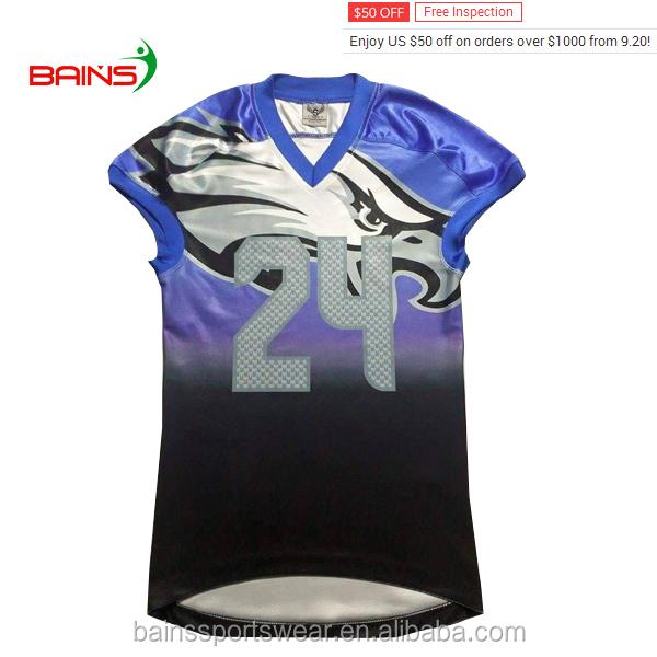 discount 5b822 721da Wholesale Customized American Football Jerseys/cheap American Football  Training Jersey/factory Price Jersey Football American - Buy Wholesale ...