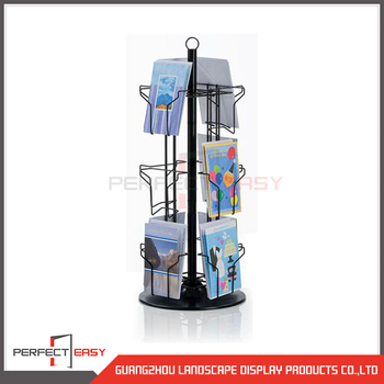 Hot Sale Customized Office Supplies Daily Rotating Display Stand