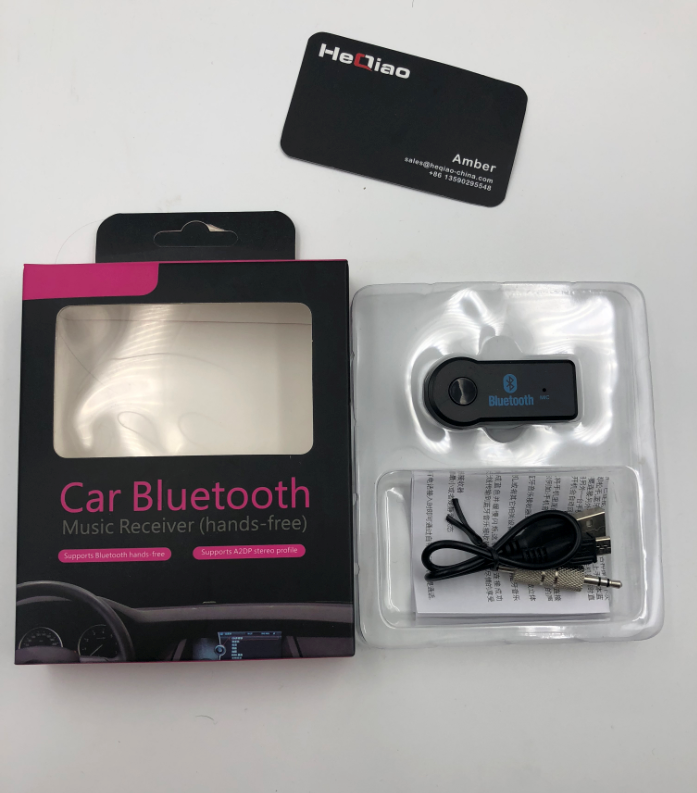 Hot Selling Products:Wireless Car Bluetooth Music Adapter Car AUX USB Bluetooth Car Kit Receiver