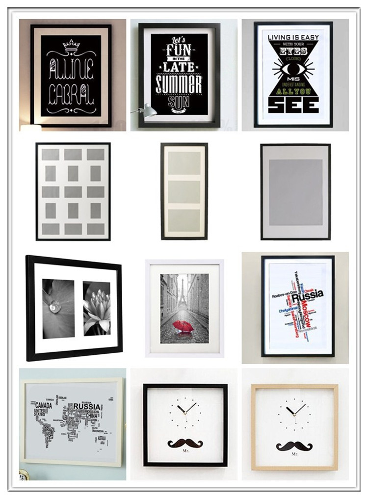 Cheap Wood Acrylic Photo Picture Frames In Bulk / 11x14 Picture ...