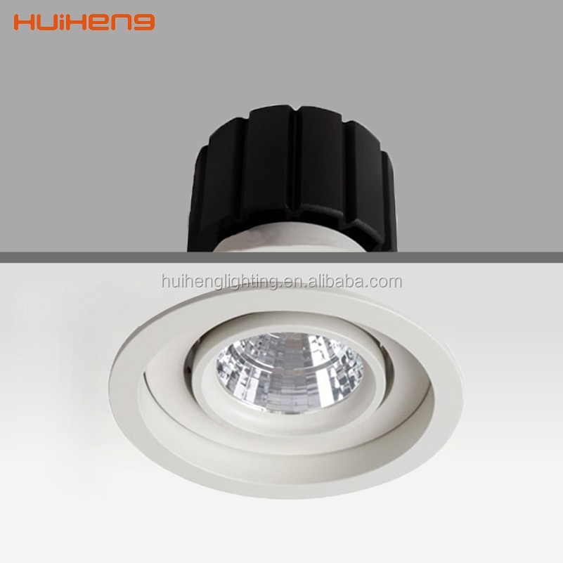 CE approved aluminium recessed warm white cob cree 9w 100mm diameter led <strong>downlight</strong>
