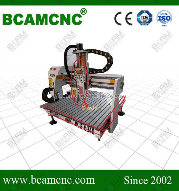 mini advertising woodworking machinery of cnc router 6040 for hot sale