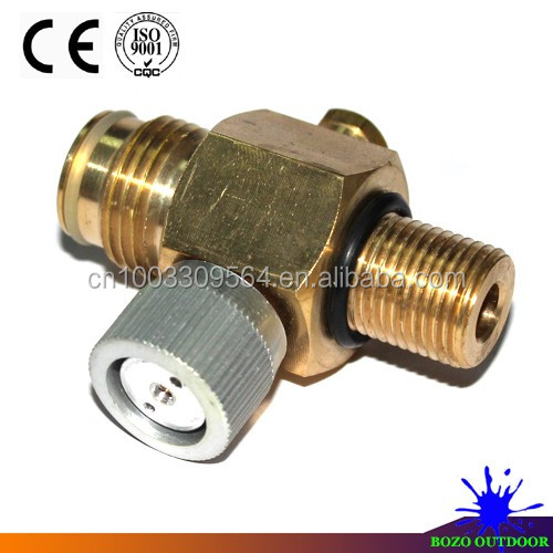 1/4 Turn Co2 Tank On/off Pin Valve Copper Made Paintball Airsoft New - Buy  Paintball,Airsoft,Tank Pin Product on Alibaba com