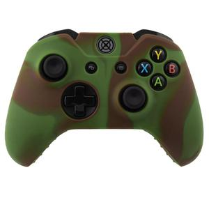 Multi Color Green Brown Silicon Wireless Controller Cover Case For Xbox One