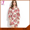2801 NEW Arrival 2015 Wedding Short Cotton Floral Kimono Robe Pattern