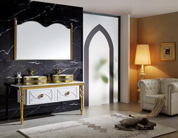Saudi Arabische Stijl Keramische Wastafel Dubbele Wastafel Badkamer ...