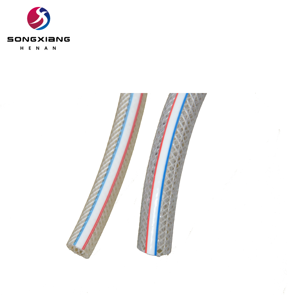High pressure pvc reinforced flexible water pipe