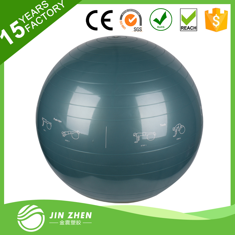 No1-518 exercise yoga ball series 8 fitness ball for body building