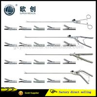 reusable medical laparoscopic needle holder O shaped V shaped Gun shaped