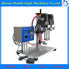 Industrial automatic wine bottle capping machine/tabletop jar screw capping machine price