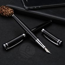 New Model Jinhao Good Quality Metal Fountain Pen with Logo Custom
