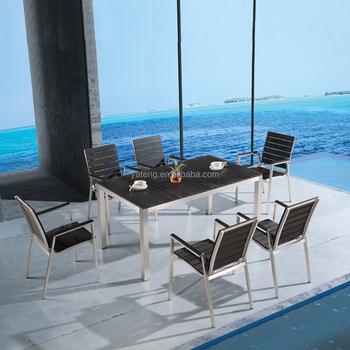 Gunstige Wpc Bord Gartenmobel Kunststoff Garten Tisch Und Stuhle